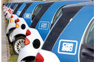 Carsharing, Car2Go-Flotte