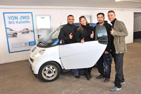 Carsharing, Car2go, Team