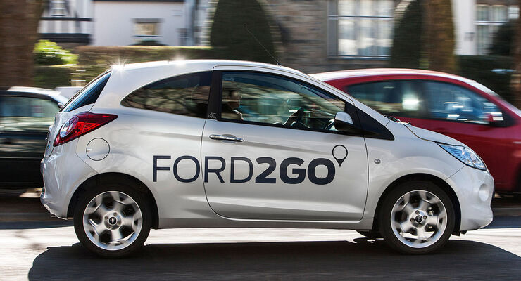 Carsharing Ford2Go