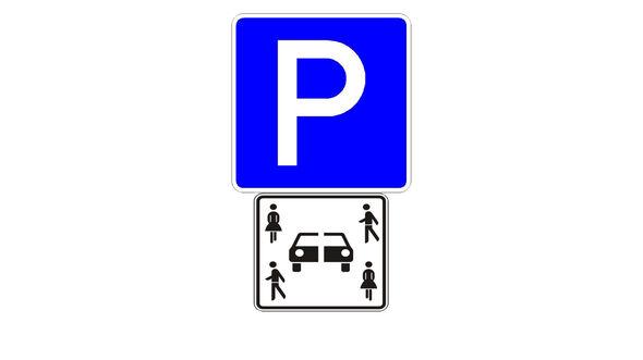 Carsharing Verkehrszeichen Schild BMVI 2019