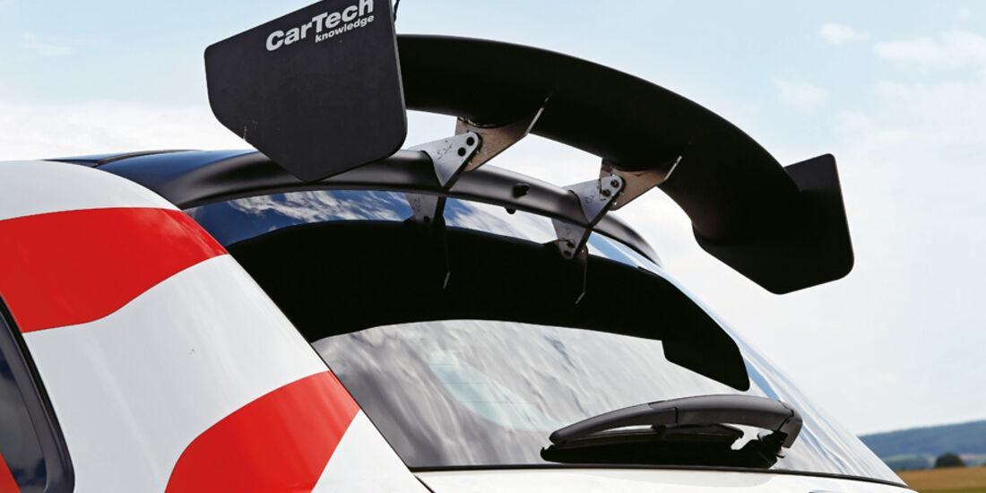 Cartech-Abarth 500 Coppa, Heckspoiler