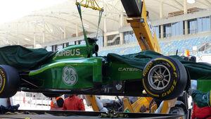 Caterham - Bahrain - Formel 1 Test - 2014