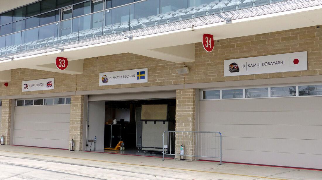 Caterham-Box - GP USA 2014