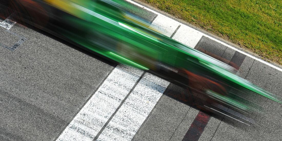Caterham F1 Test Barcelona 2013