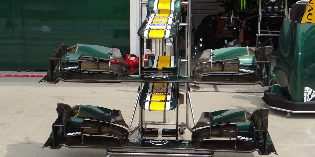 Caterham - Formel 1 - Budapest - GP Ungarn - 26. Juli 2012