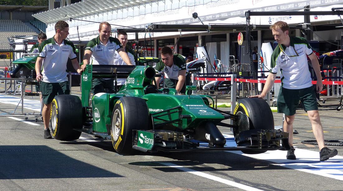 Caterham - Formel 1 - GP Deutschland - Hockenheim - 17. Juli 2014