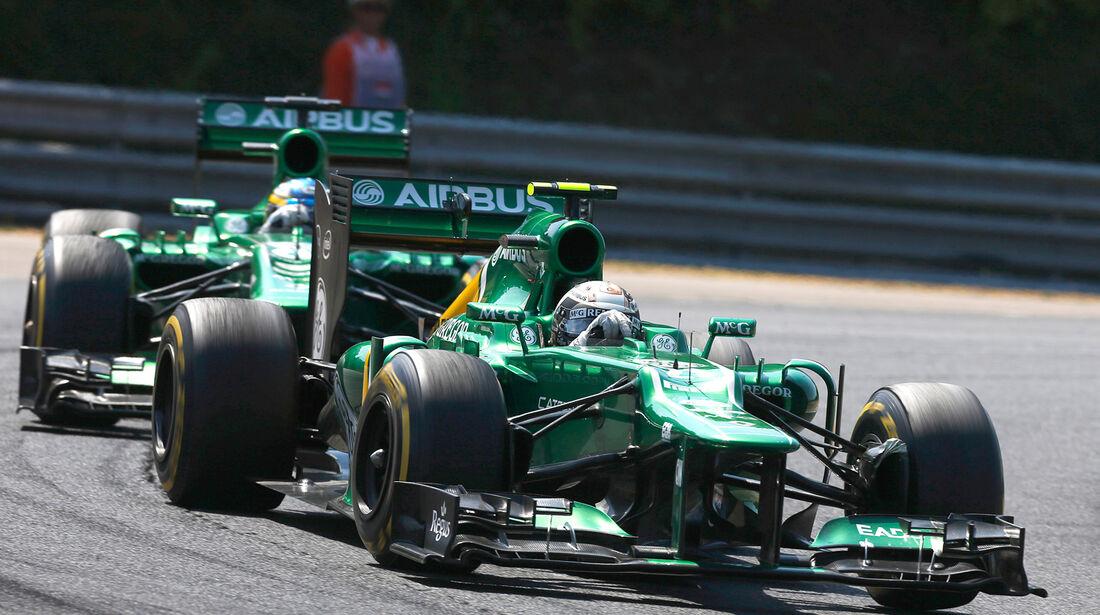 Caterham - Formel 1 - GP Ungarn 2013