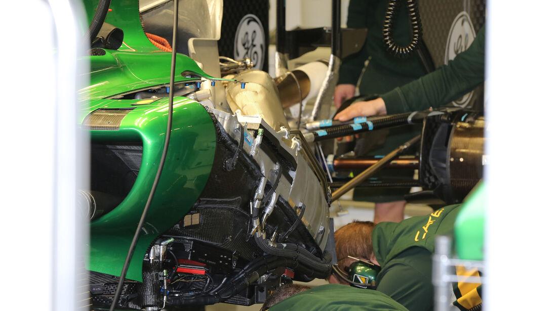 Caterham - Formel 1 - Jerez - Test - 29. Januar 2014