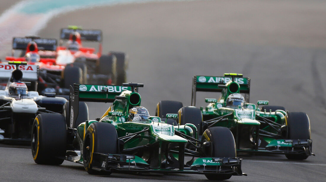 Caterham - GP Abu Dhabi 2013