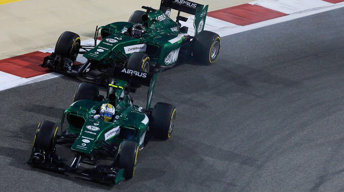 Caterham - GP Bahrain 2014