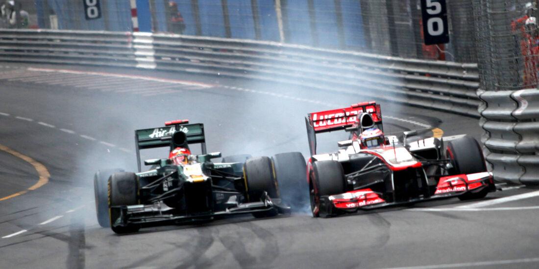 Caterham GP Monaco 2012