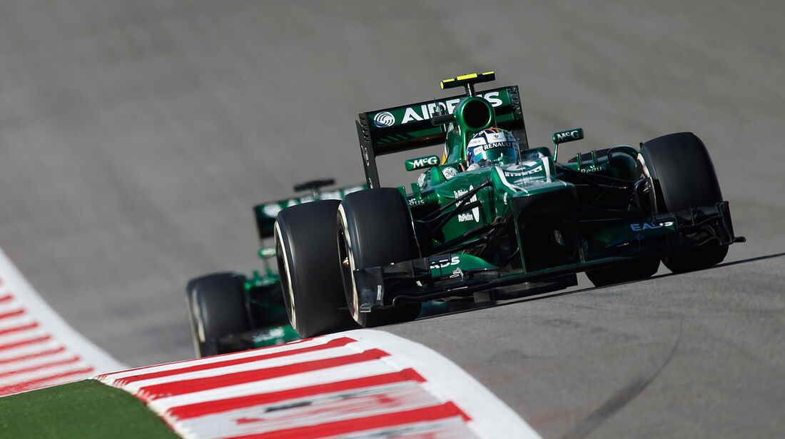 Caterham - GP USA 2013