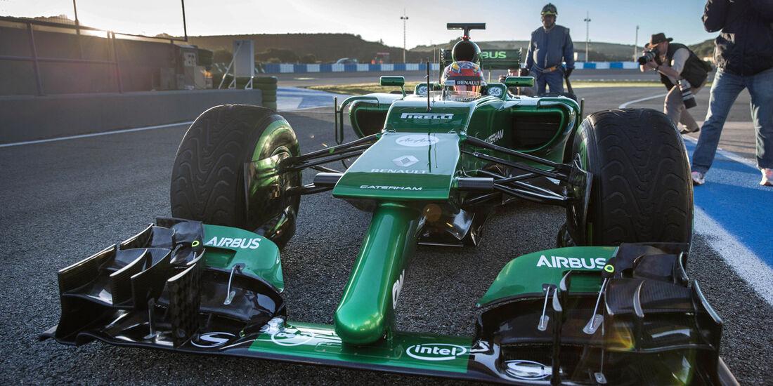 Caterham - Jerez-Test 2014