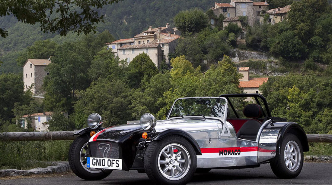 Caterham Seven Roadsport 125 Monaco Special Edition (2010)