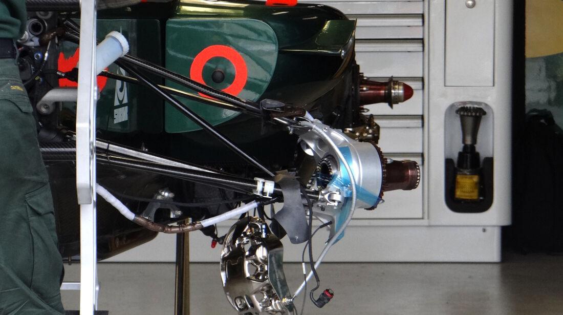 Caterham - Technik - GP Australien - 14. März 2012