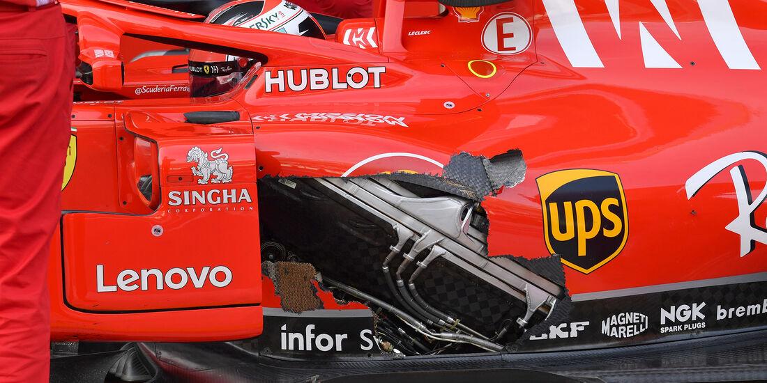 Charles Leclerc - Ferrari - F1-Test - Abu Dhabi - 28. November 2018