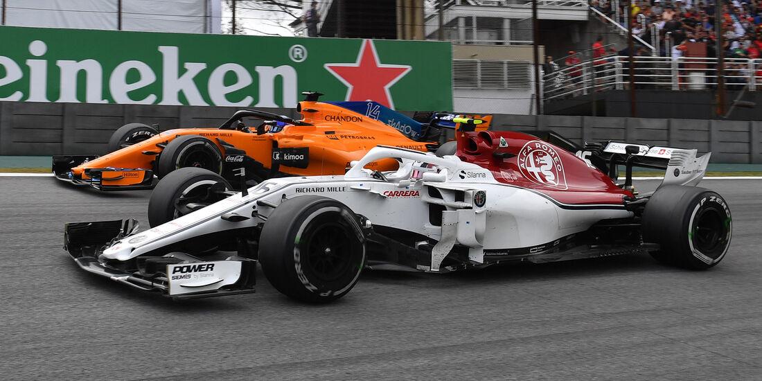 Charles Leclerc - Formel 1 - GP Brasilien 2018
