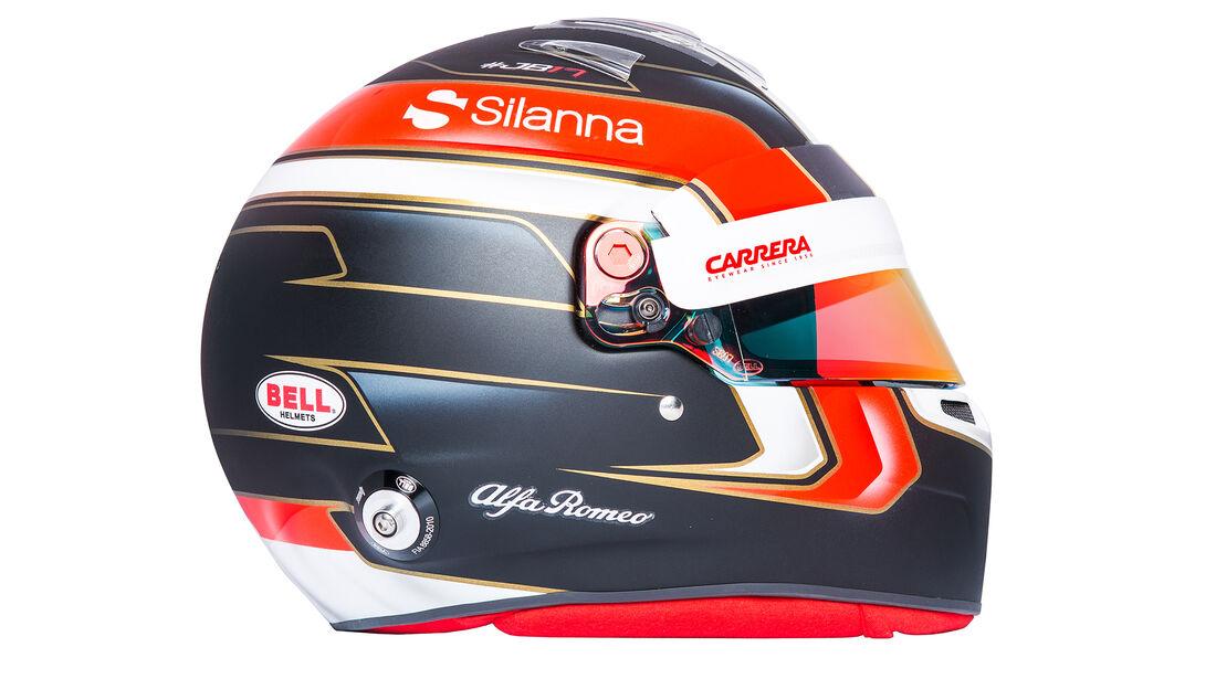 Charles Leclerc - Helm - Sauber-Alfa Romeo - 2018