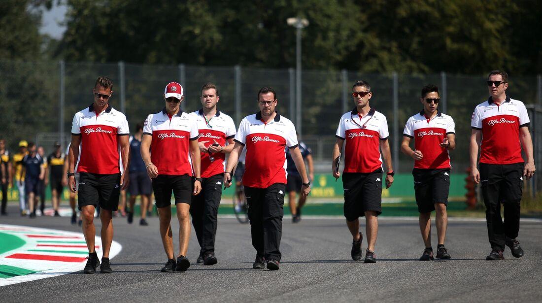 Charles Leclerc - Sauber - Formel 1 - GP Italien - 30. August 2018