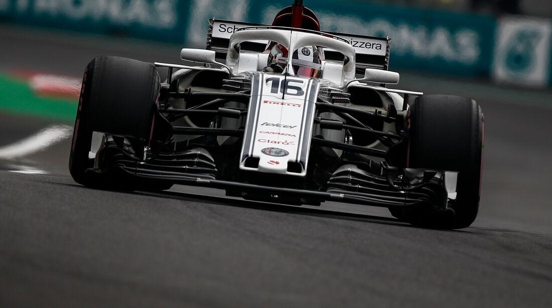 Charles Leclerc - Sauber - Formel 1 - GP Mexiko - 27. Oktober 2018