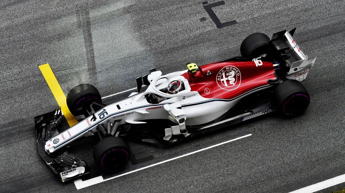Charles Leclerc - Sauber - Formel 1 - GP Österreich - 29. Juni 2018