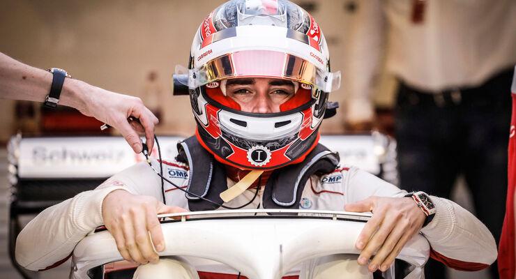 Charles Leclerc - Sauber - GP Abu Dhabi 2018