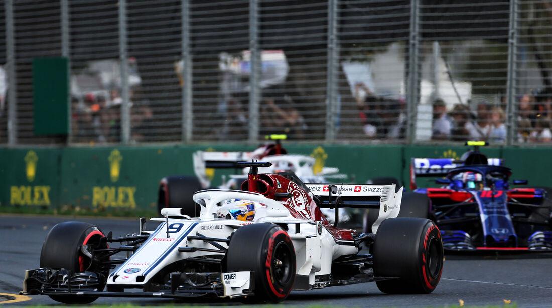 Charles Leclerc - Sauber - GP Australien 2018 - Melbourne - Rennen