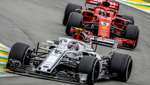 Charles Leclerc - Sauber - GP Brasilien 2018