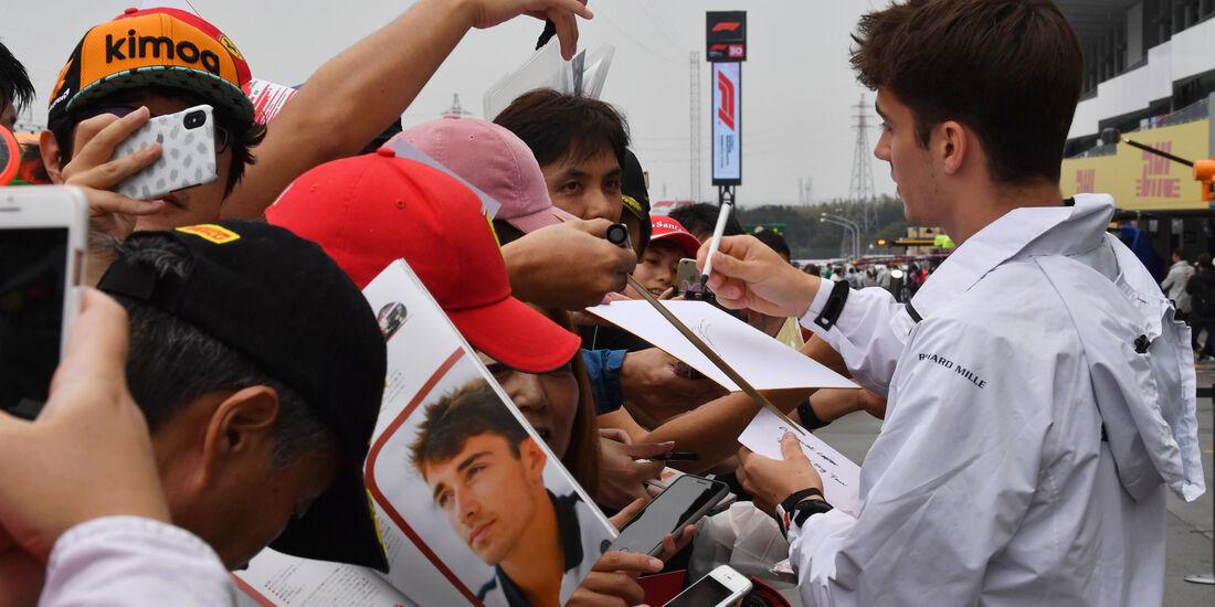 Charles Leclerc - Sauber - GP Japan - Suzuka - Donnerstag - 4.10.2018