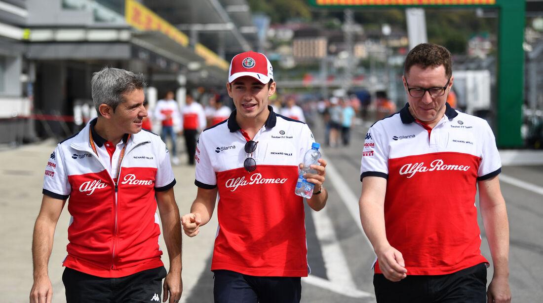 Charles Leclerc - Sauber - GP Russland - Sotschi - Formel 1 - Donnerstag - 27.9.2018