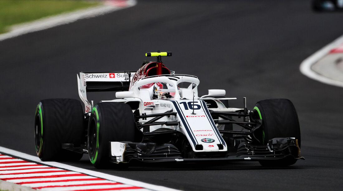 Charles Leclerc - Sauber - GP Ungarn 2018 - Qualifying