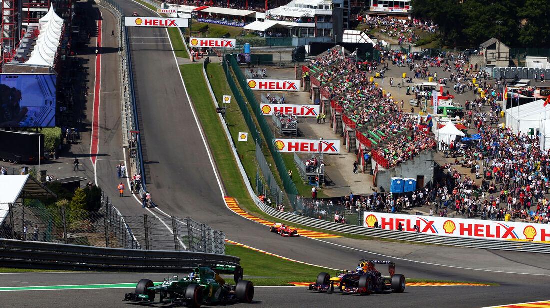 Charles Pic - Caterham - Formel 1 - GP Belgien - Spa-Francorchamps - 23. August 2013