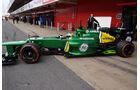 Charles Pic - Caterham - Formel 1 - Test - Barcelona - 19. Februar 2013