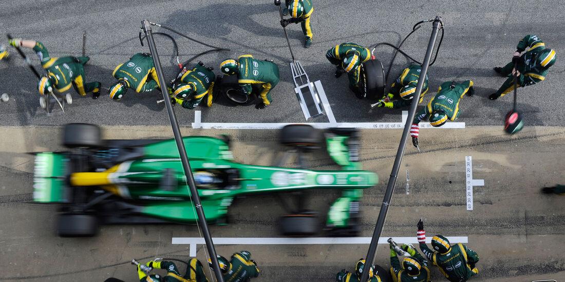 Charles Pic - Caterham - Formel 1 - Test - Barcelona - 3. März 2013