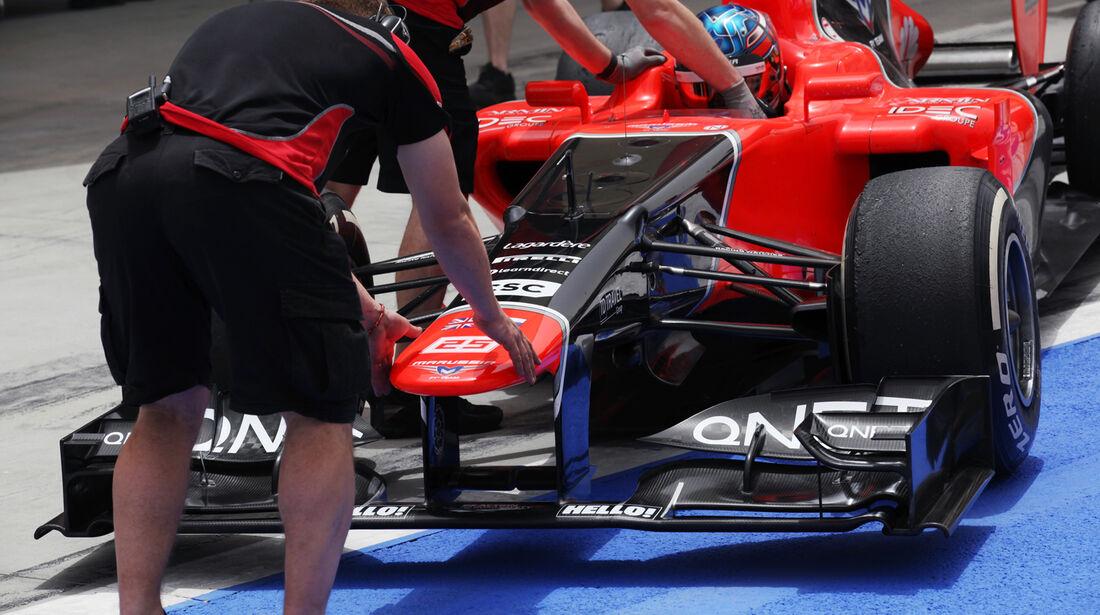 Charles Pic GP Bahrain 2012