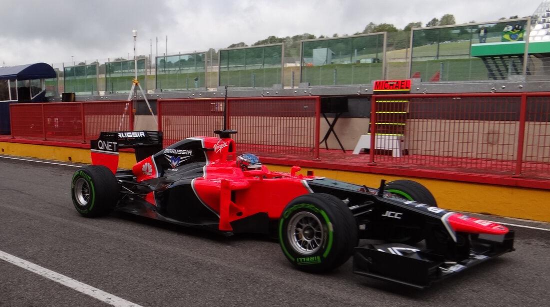Charles Pic - Marussia - Formel 1-Test - Mugello - 2. Mai 2012