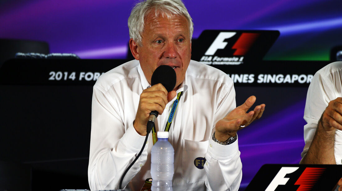 Charlie Whiting - FIA - Formel 1 - GP Singapur - 19. September 2014