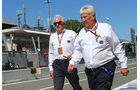 Charlie Whiting - Herbie Blash - FIA - GP Italien 2015 - Monza