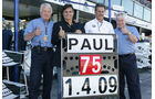 Charlie Whiting - Nelson Piquet - Mario Theissen - Herbie Blash - Formel 1