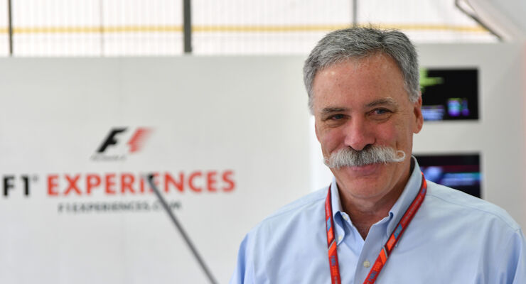 Chase Carey - GP Spanien 2017