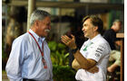 Chase Carey & Jost Capito - Formel 1 - GP Singapur - 17. September 2016