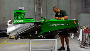 Chassis Caterham - 2013