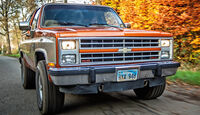 Chevrolet Blazer K-5, Frontansicht