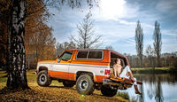 Chevrolet Blazer K-5, Seitenansicht, See