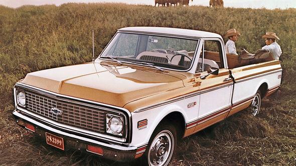 Chevrolet C/10 Cheyenne Pickup (1971)