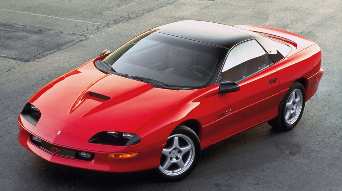 Chevrolet Camaro, Aero-Look, Frontansicht