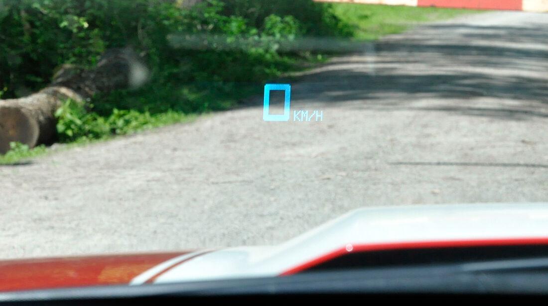 Chevrolet Camaro, Headup-Display