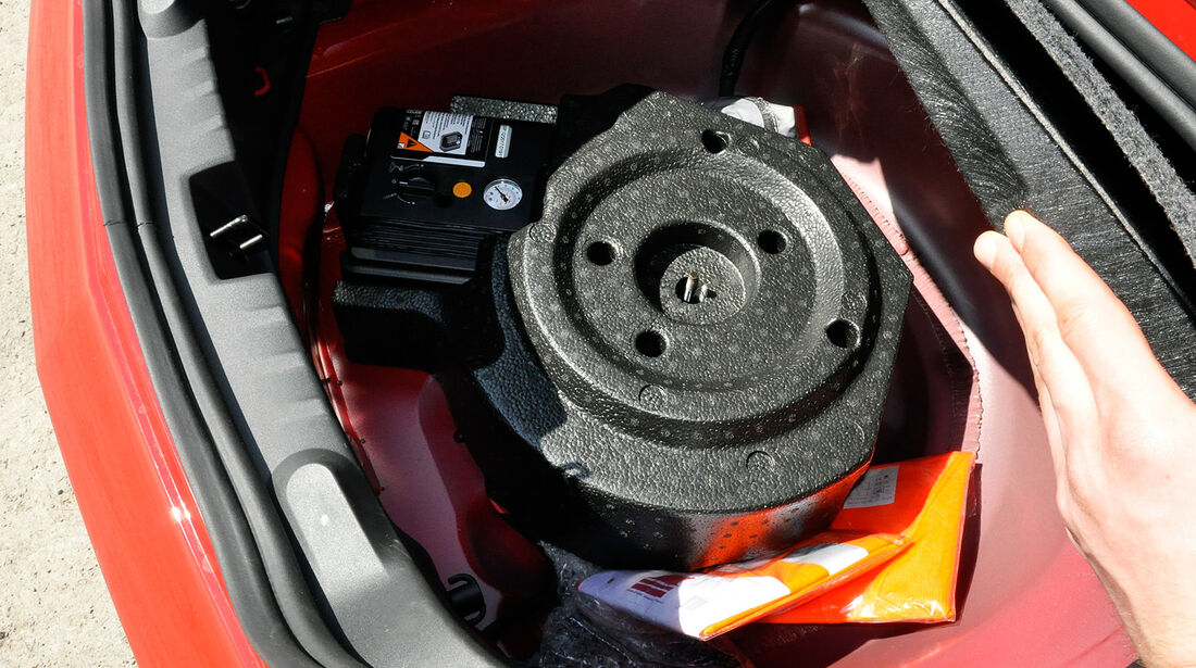 Chevrolet Camaro, Kofferraum