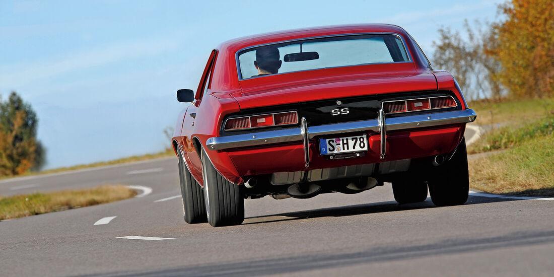 Chevrolet Camaro SS, Heckansicht