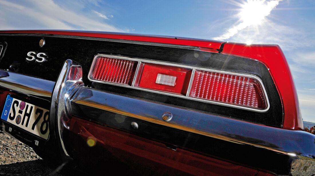 Chevrolet Camaro SS, Heckleuchte